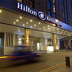 Holland Park Avenue, main entrance of Hilton London Kensington