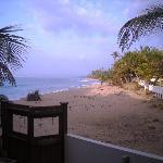 Sandy Beach approaching sunset