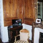 High Def TV and Original Wood paneling