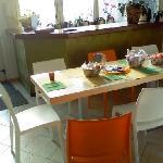 Atrio e sala colazione