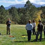 Experiential education - in a beautiful setting