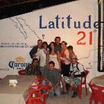 My family with our new friends at Lattitude 21