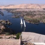 View of Nile from room balcony