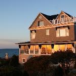 A beautiful morning at Cape Arundel Inn