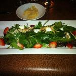 FRESH STRAWBERRIES & GOAT CHEESE  Salad