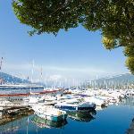 Gand Port Aix les Bains face à l'hôtel L'IroKo***