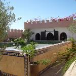 Riad Shemsi lower sun terrace