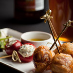 Inspired menus with a creative assortment of sharing plates.