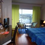 Chambre avec terrasse Hôtel l'Ermitage Le Puy en Velay