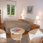 Chambre côté jardin Hôtel l'Ermitage Le Puy en Velay