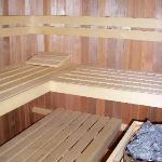 Sauna in the backyard (can be arranged)