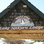 Lake Nakuru Lodge entry