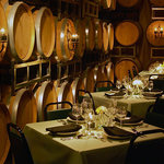 Bistro dining in the Barrel Room