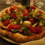 Pizza w/veggies