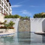 Saline water pool