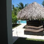 Lounge Chairs swim up suite