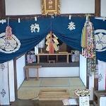 宝当神社内