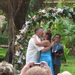 Wedding on grounds