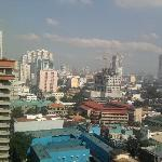 From the balcony looking towards Metro Manila