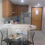Is a view of our kitchen
