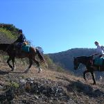 GO horse riding to the MOUNTAINS