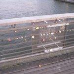 cadenas sur le pont