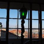 The hostal lamppost