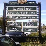 Siesta Key Village in the Davidson Drugs Plaza