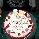 la mia torta di compleanno!