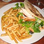 Greek Grill Chicken Fold-Over. Double Yum!