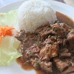 Beef en Salsa