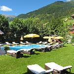 Alpenhotel Tirolerhof Neustift Sommer Freischwimmbad