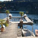 Beheizter See von Koller's Hotel