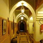 The hallway - mini museum!