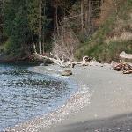 Hidden Beach, 25 minute walk/hike from resort