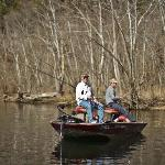 Bass boats are available for half day, full day or 2 hours.