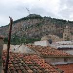 Views of La Rocca and the church.
