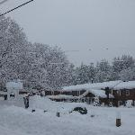 Landgrove Inn in the Snow