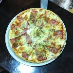 Exquisita pizza