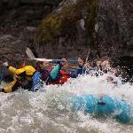 Rafting the Blackfoot River