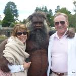 An aboriginal encounter in the Blue Mountains
