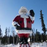 Fierce looking Santa