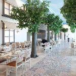 Dining in the magical Tel Aviv athmoshpere