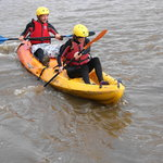 Kayaking with Skern lodge in North Devon