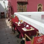 terrazzino e camera rossa