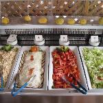 lauto buffet delle insalate
