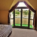 La chambre King - vue terrasse