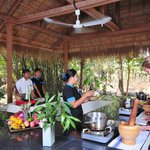 Cambodian Cooking Classes in Village Pavillion