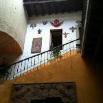 casa del Angel recepción