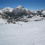 View down Le Gondrans
